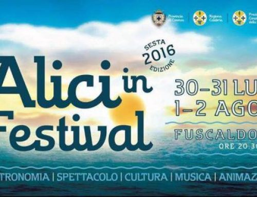 """Torna """"Alici in festival"""". A Fuscaldo piatti tipici, intrattenimento e musica dal vivo per 4 giorni"""