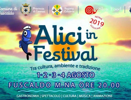 """Torna """"Fuscaldo: Alici in festival, tra cultura, ambiente e tradizioni"""""""